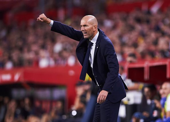 Zidane is running out of options with the Madrid Derby just around the corner