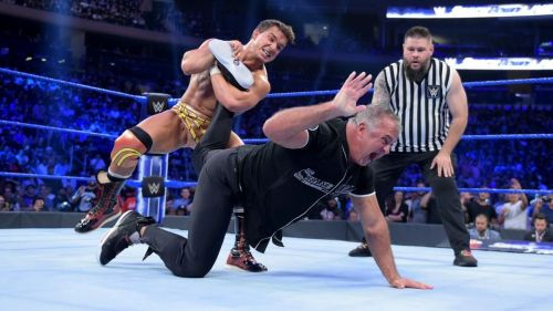 Gable defeated Shane McMahon on SmackDown Live to qualify for the King of the Ring finals.