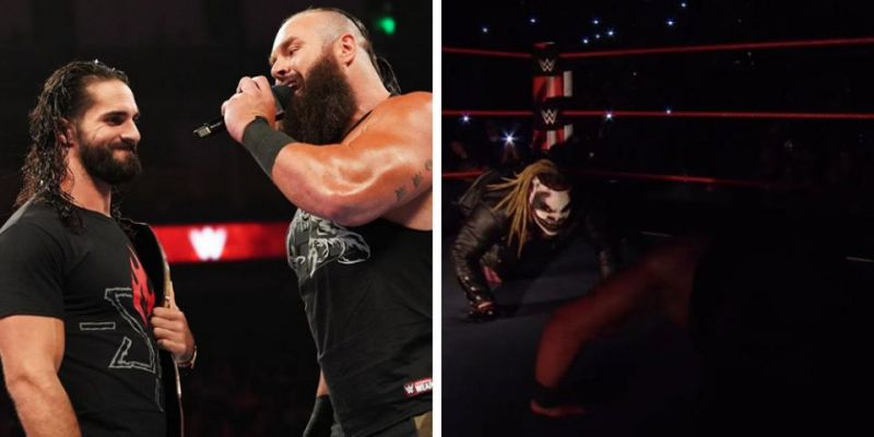 The Fiend protected Seth Rollins