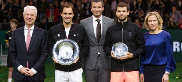 In his last meeting with Dimitrov, Federer emerged victorious in the 2018 Rotterdam final