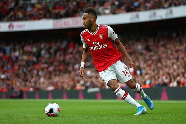 Aubameyang has been brilliant for Arsenal