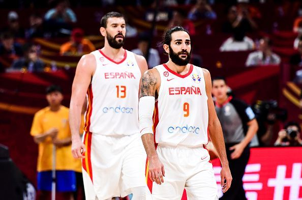 Marc Gasol and Ricky Rubio impressed as Spain overcame Australia to reach the World Cup Final