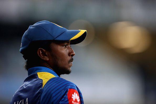 Akila Dananjaya has played 22 T20Is for Sri Lanka