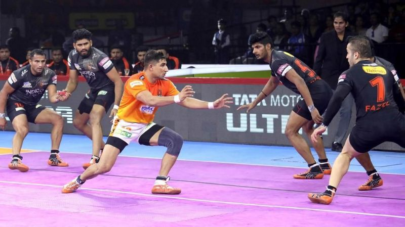 The match between Puneri Paltan and U Mumba ended in a tie