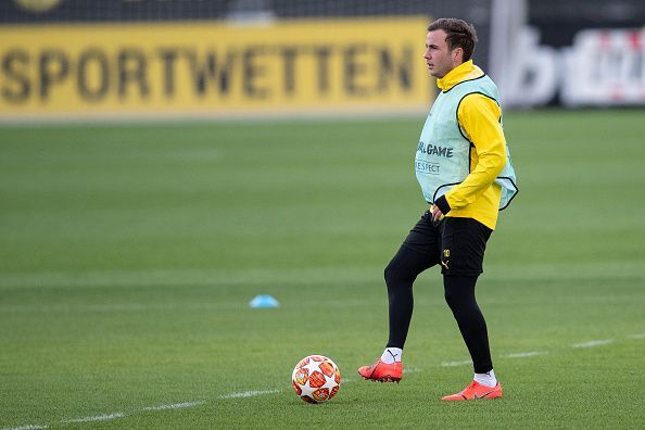 Gotze got his first minutes of the season and impressed
