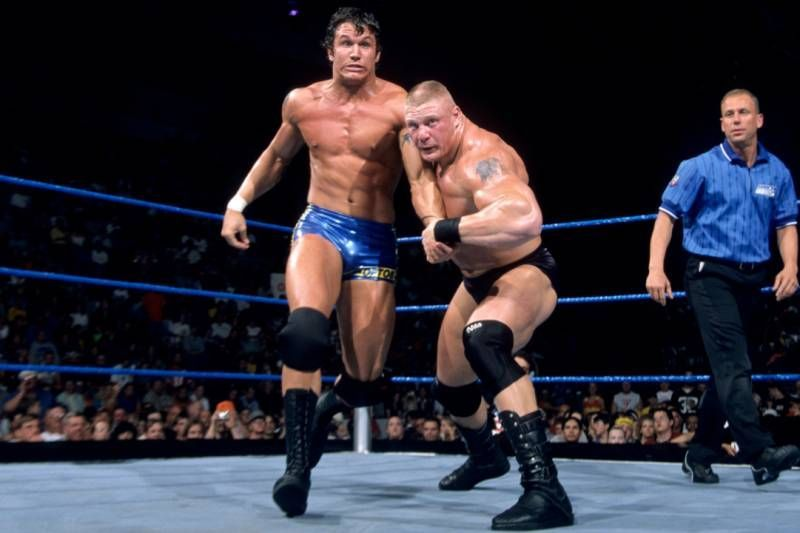 Brock Lesnar vs Randy Orton