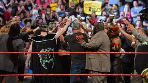 While Raw celebrated with a huge list of legends, Shamrock felt the company had turned their backs on him