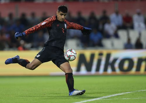 Gurpreet Singh Sandhu in action
