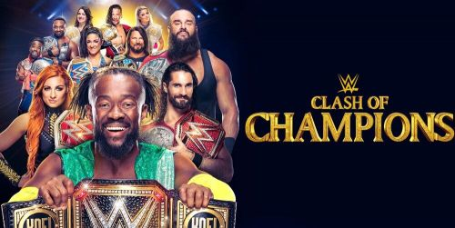 The poster for the 2019 edition of Clash of Champions