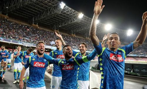 Mertens scored the last time Napoli faced Liverpool in the Champions League at San Paolo