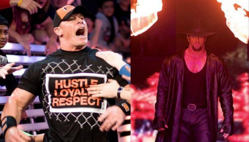 John Cena; Undertaker
