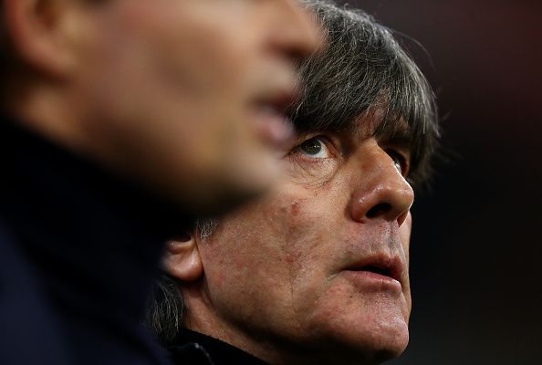 Joachim Low contributed to a tactical first half