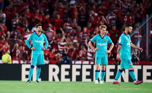 Barcelona lost to Granada to continue their worrying away form.