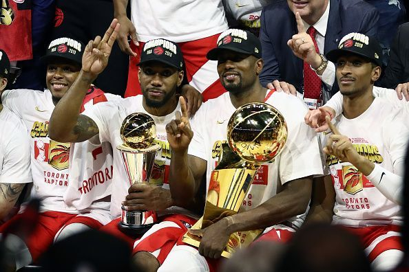 Leonard won a championship with the Raptors