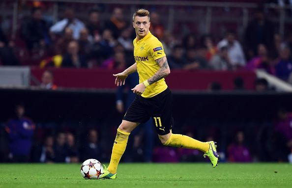 Marco Reus was influential but not clinical