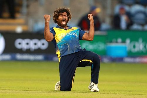 Lasith Malinga has become the only second bowler in T20I history to pick four wickets off four consecutive deliveries.