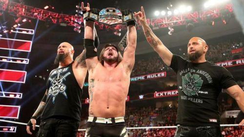 AJ Styles has been a dominant US Champion so far