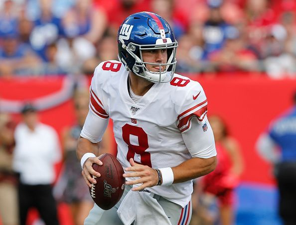 While Jones certainly had an impressive preseason, it almost felt like Pat Shurmur tried to drive the narrative by setting his rookie up with easy completions on crossers and layups to his receivers