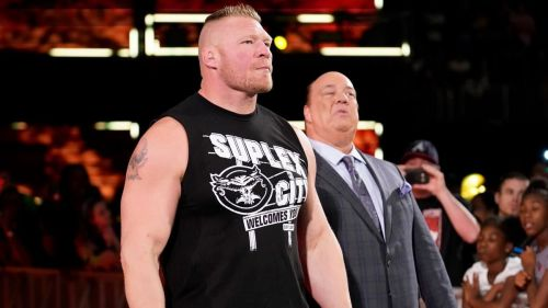 Brock Lesnar made a surprise return to WWE SmackDown Live