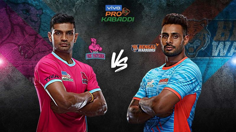 Jaipur Pink Panthers face an uphill battle against the in-form Bengal Warriors.