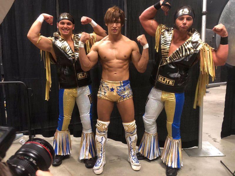 The Golden Lover stayed behind in NJPW
