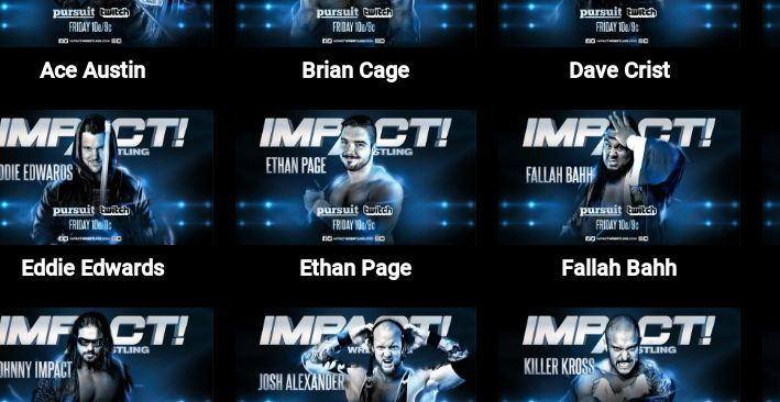 Impact Wrestling has a very strong, varied roster.