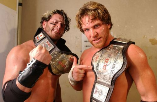 Chris Sabin and Alex Shelly