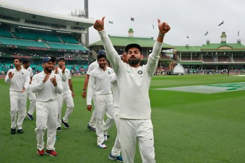 India have solidified their position at the top