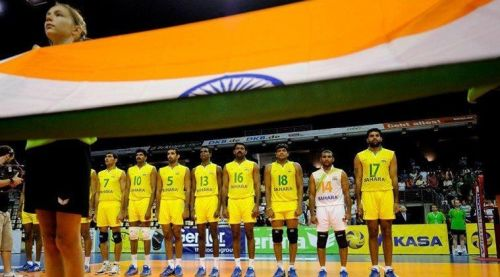Indian Volleyball Team