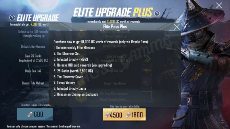 PUBG Mobile Season 9 Elite Pass Plus (Image source: Mr.GHOST GAMING, YouTube)