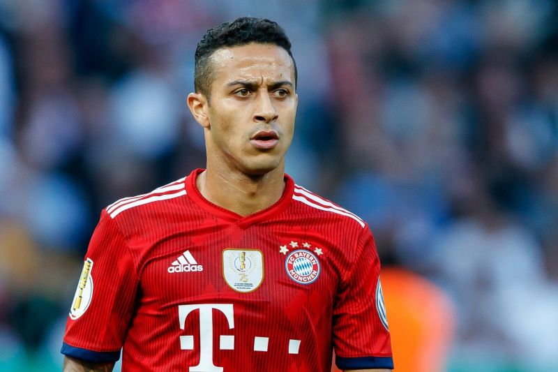 Thiago put up a neat display in midfield against Red Star