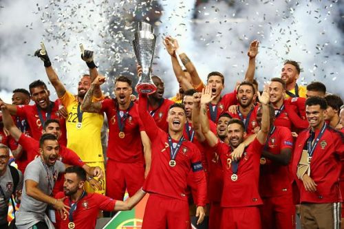 Ronaldo won the UEFA Nations League with Portugal in the summer