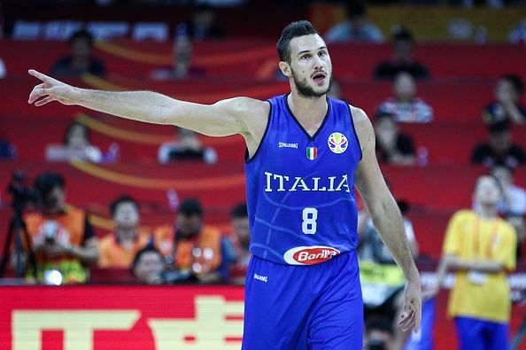 Danilo Gallinari impressed during Italy