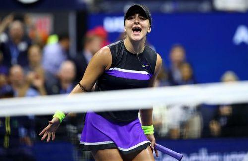 2019 US Open - Bianca Andreescu's winning moment