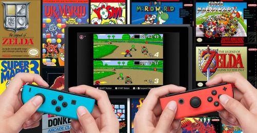 SNES games on the Switch? Yes, please!