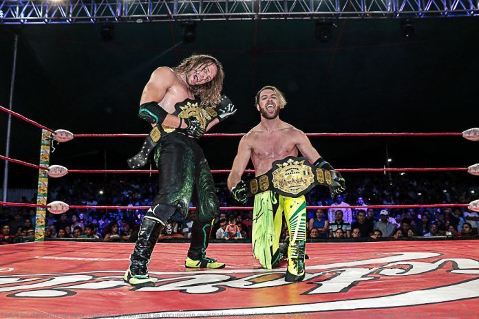 Image result for aew angelico and jack evans