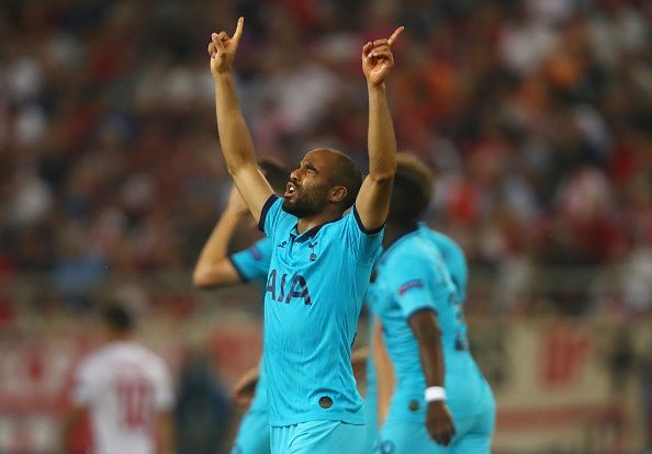 Lucas Moura scored an outstanding goal for Spurs but could Olympiacos