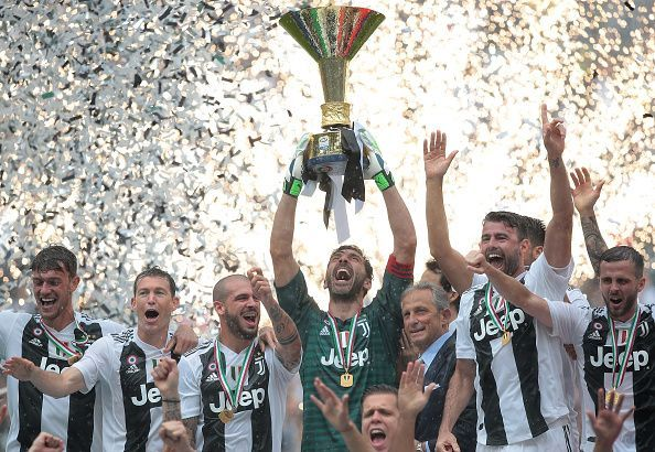 Juventus have been a dominant force Serie A