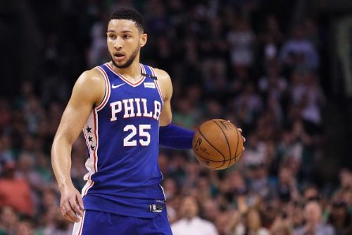 Ben Simmons recorded several triple double en route to the Rookie of the Year award in 2019