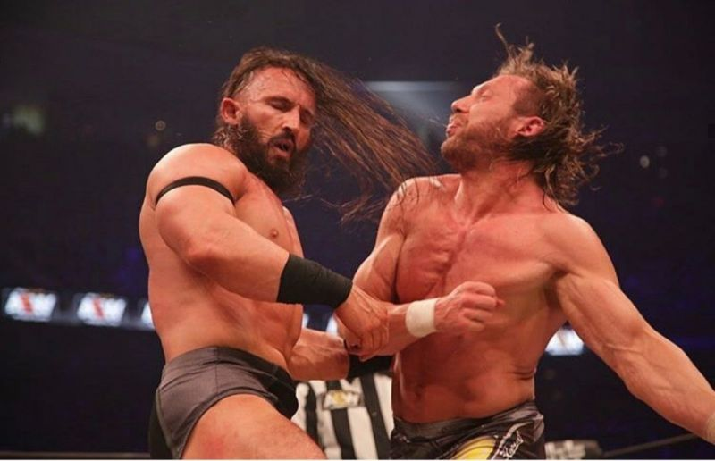 PAC defeated Kenny Omega on his AEW debut