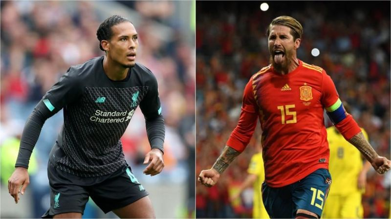 Sergio Ramos and Virgil van Dijk are two of the best centre-halves at the moment.