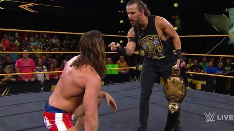 There were some interesting botches last night on NXT