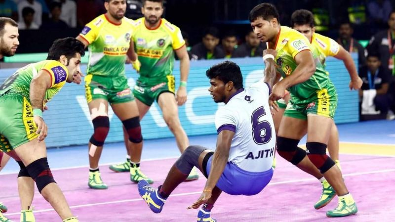 V. Ajith Kumar has been one of the few bright spots for Tamil Thalaivas this year