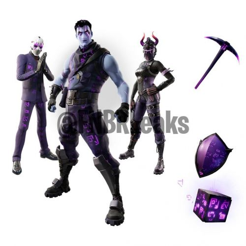 The new bundle of cosmetics that ought to release in the next 48 hours (Image credit: Fortnite: Battle Royale Leaks, Twitter)