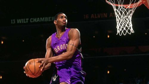 T-Mac in the 2000 Slam Dunk Contest