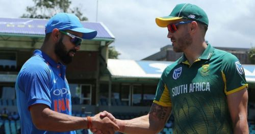 South Africa will visit India in September 2019