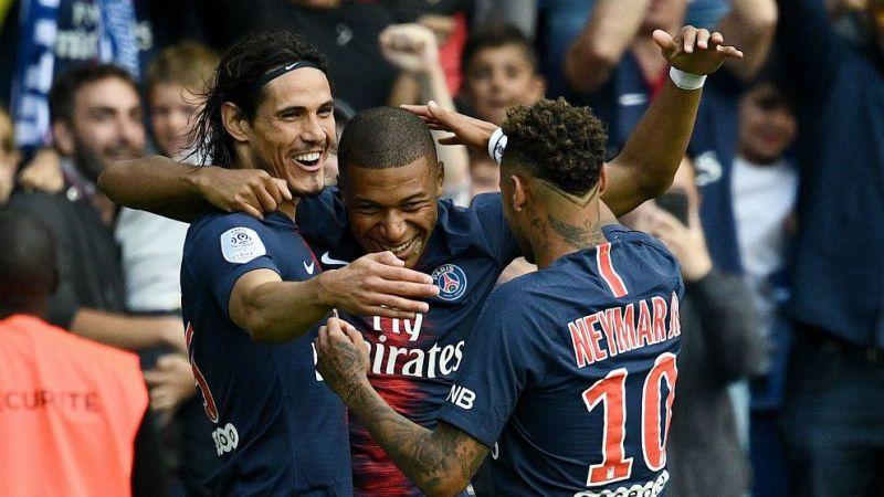 Kylian Mbappe, Edinson Cavani and Neymar missed the game against Real Madrid