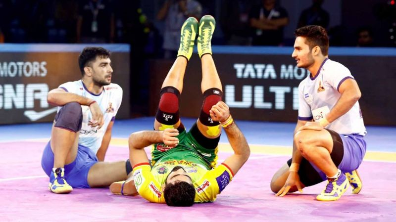 The defenders could not stop the Patna Pirates captain tonight