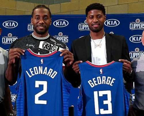 Los Angeles Clippers Introduce Kawhi Leonard & Paul George