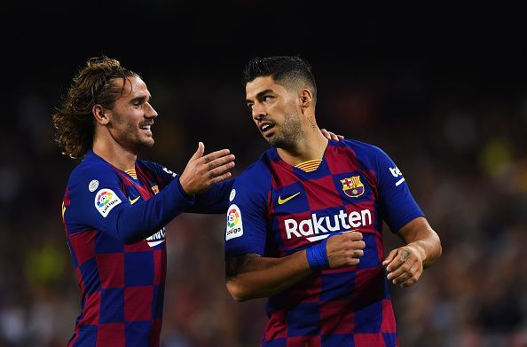Barcelona will is looking for their first back-to-back win in the league for the first time this season